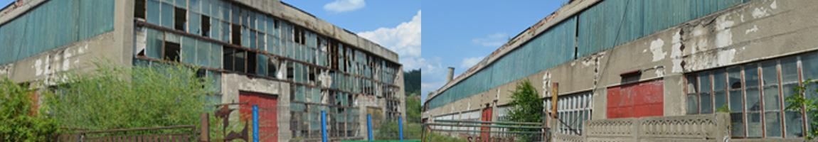 Hală industrială și spații pentru birouri 3000 mp / UPSROM INDUSTRY